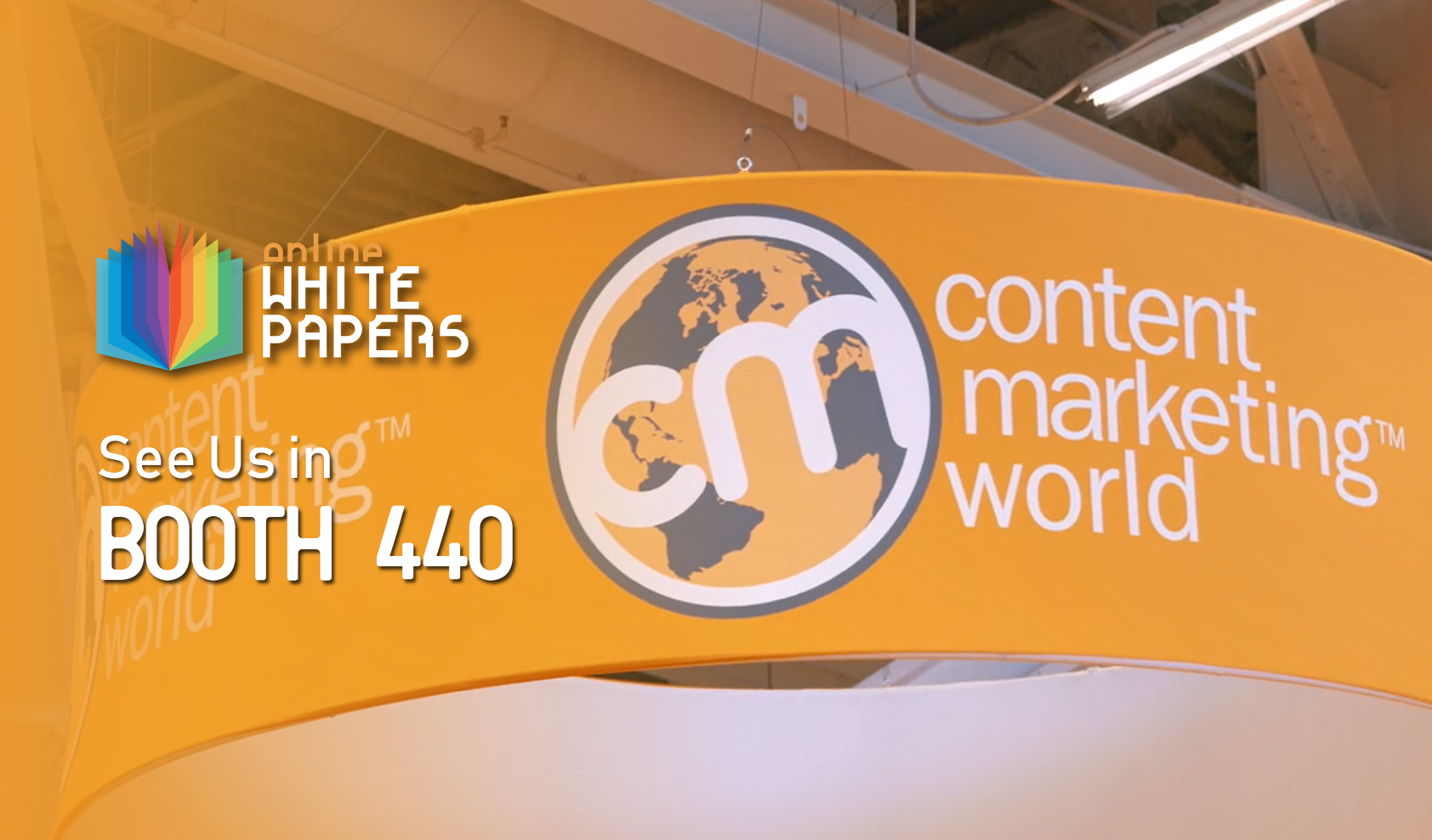 OnlineWhitepapers.com bringing the power of whitepapers to Content Marketing World
