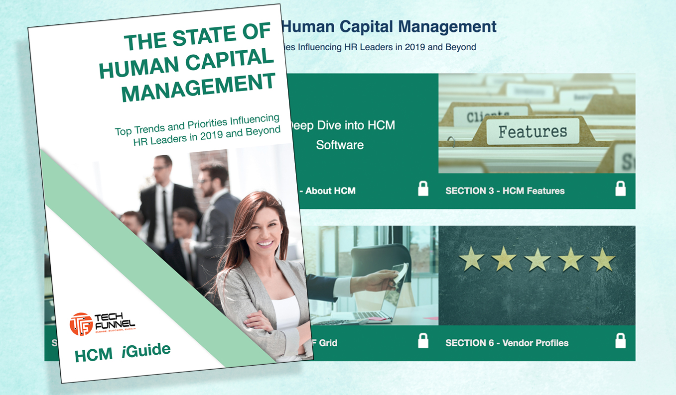 TechFunnel publishes its first Interactive Human Capital Management Software Buyer's iGuide