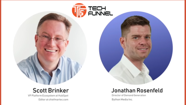 TechFunnel interviews HubSpot's Scott Brinker on how technology and creativity continue to transform global marketing