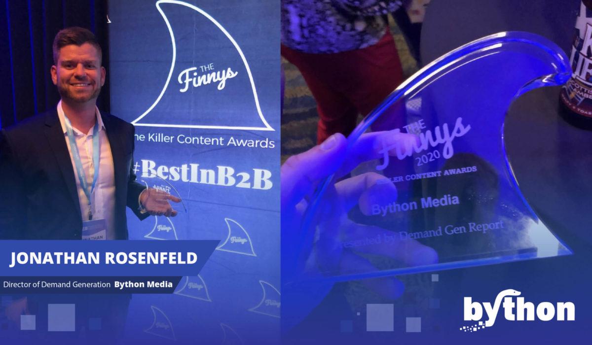 Bython Media Wins Killer Content Award at B2BMX